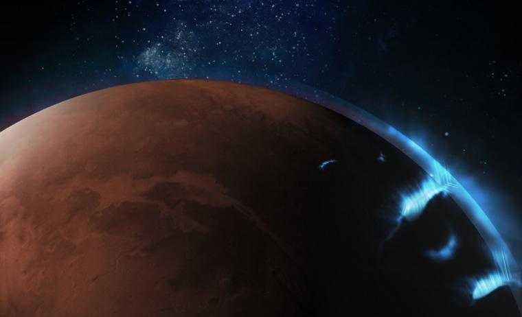 Image: Mars Aurora