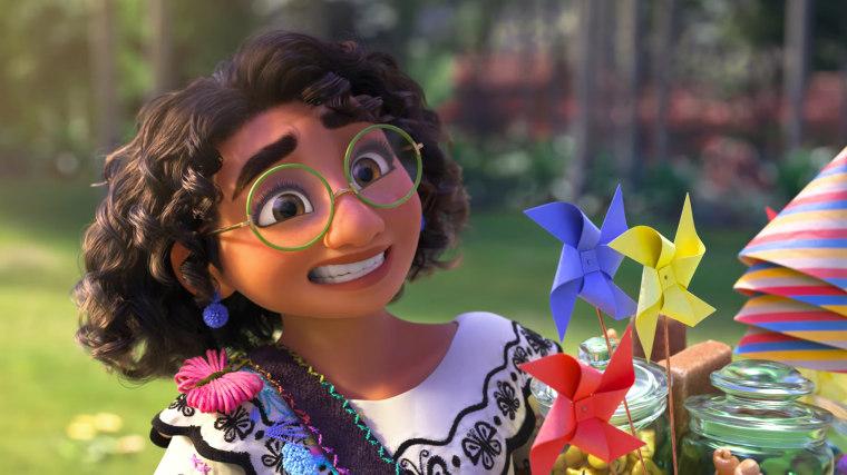 "A scene from Disney's ""Encanto."""