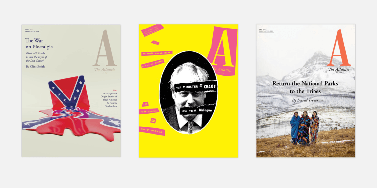Recent covers of The Atlantic