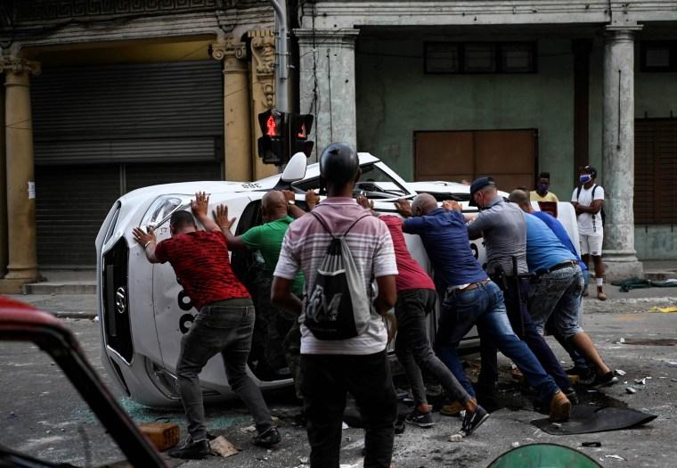 Image: Cuba protests