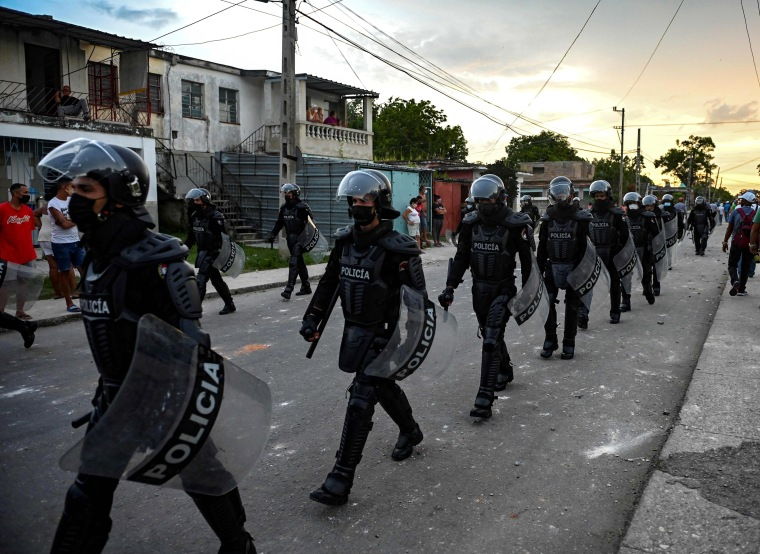 Image: Cuba Protest