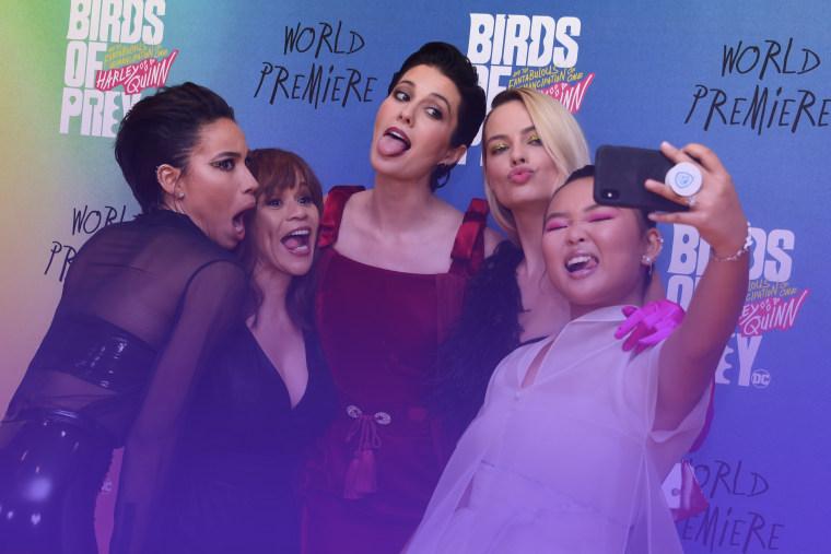 Birds of Prey World Premiere - London
