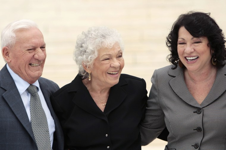 Sonia Sotomayor, Celina Sotomayor, Omar Lopez