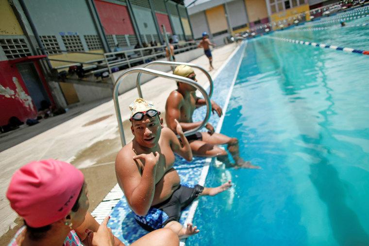 Image: Venezuelan Paralympic swimmer dreams of gold at Tokyo Paralympics