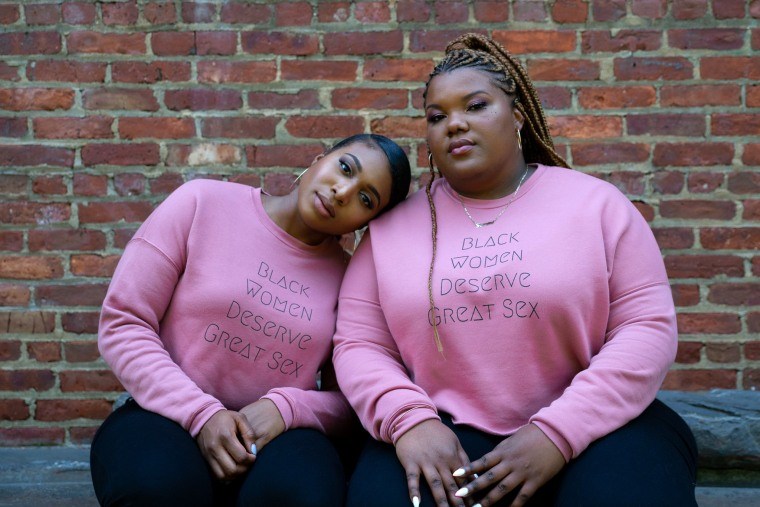 Image: Kimberly Huggins and Brittany Brathwaite.