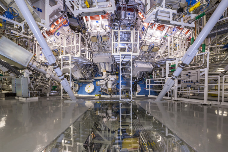 Target Chamber at National Ignition Facility