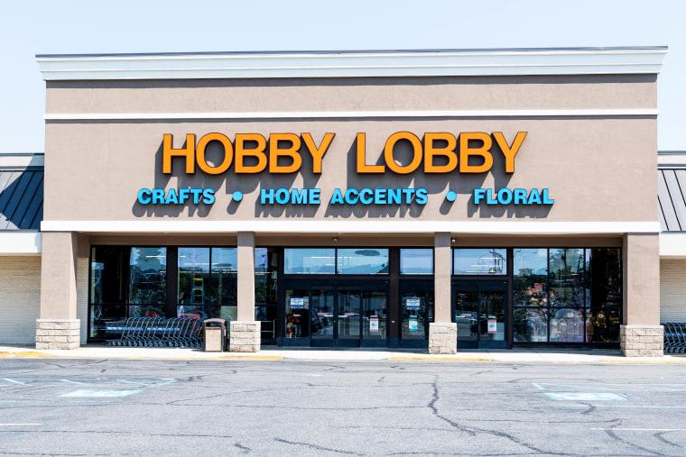 Hobby Lobby store in Totowa, New Jersey