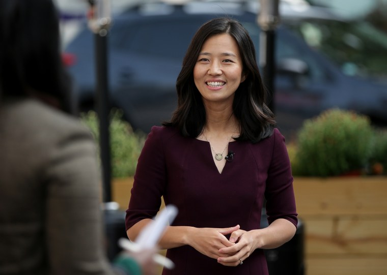 Image: Michelle Wu Runs For Mayor