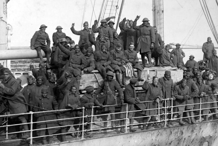Image:  369th Infantry Regiment Harlem Hellfighters