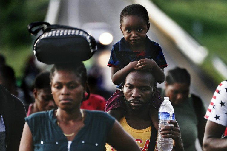 Image: Haitian migrants