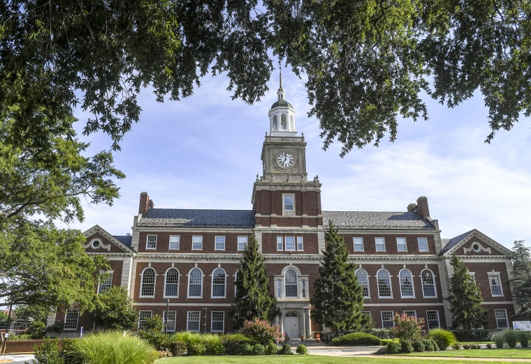 Howard University in Washington, D.C. on Aug. 7, 2020.