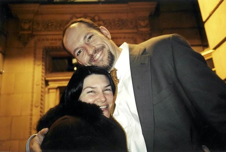 Mark Bingham and Amanda Mark.