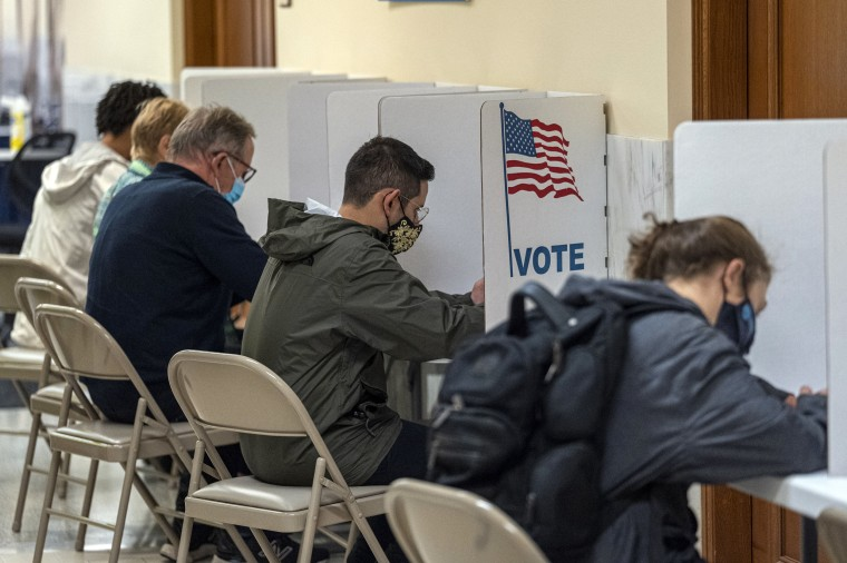 Image: Californians Vote In Gubernatorial Recall Election