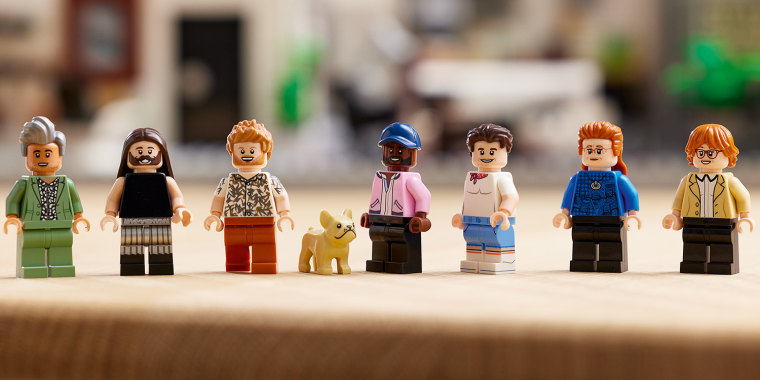 """Image: Lego's """"Queer Eye"""" 974-piece set launches on Oct. 1."""
