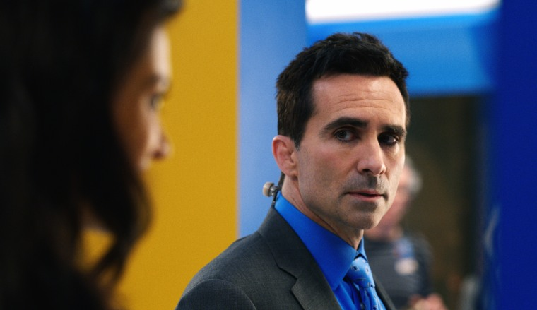 """Nestor Carbonell as Yanko Flores in """"The Morning Show"""" on Apple TV+."""