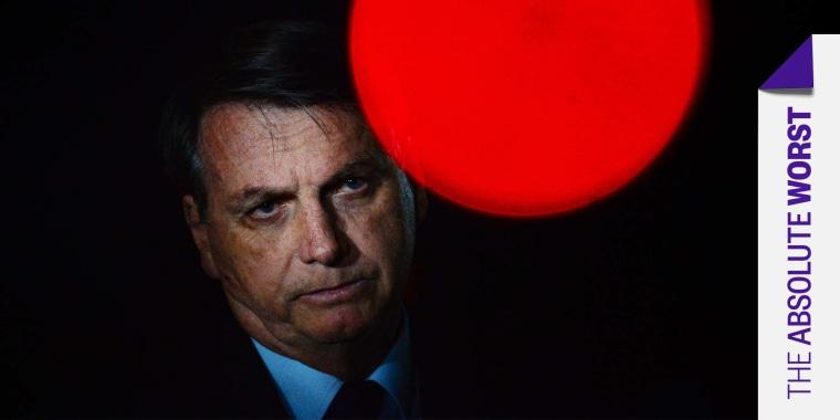 Image: Jair Bolsonaro in 2020.