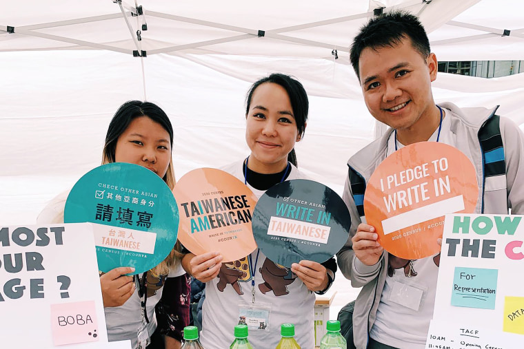 The Taiwanese American Citizens League's write in campaign encouraged Taiwanese Americans to self-identify on the 2020 survey.