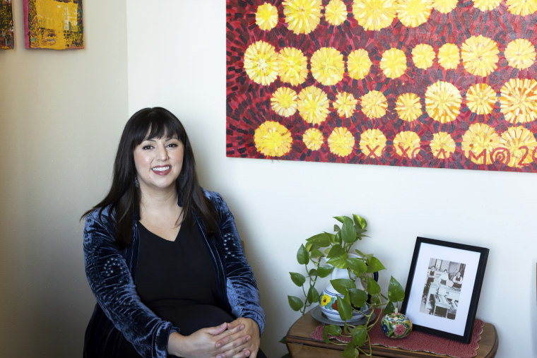 """Monica Muñoz Martinez, seen here in Austin, Texas, on Sept. 16, 2021, is among this year's recipients of the John D. and Catherine T. MacArthur Foundation's """"genius grants."""""""