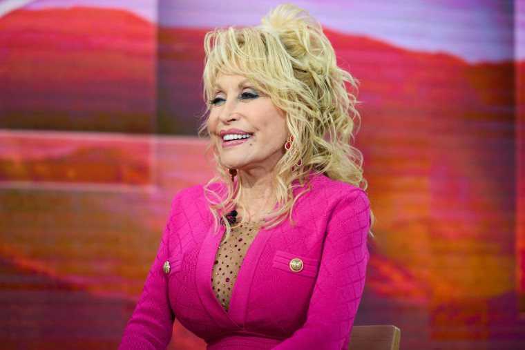"""Dolly Parton appears on NBC's """"TODAY"""" show on Nov. 20, 2019."""