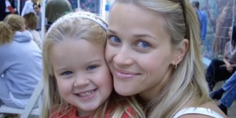 Witherspoon shared several throwback photos in honor of her daughter Ava's 22nd birthday.