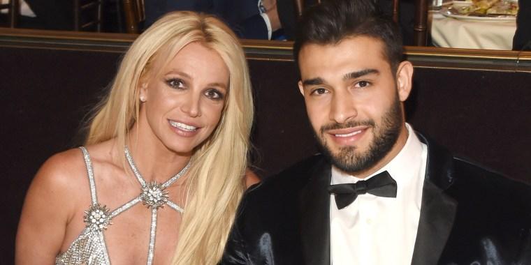 Britney Spears, star athlete? Yes, indeed, says Sam Asghari.