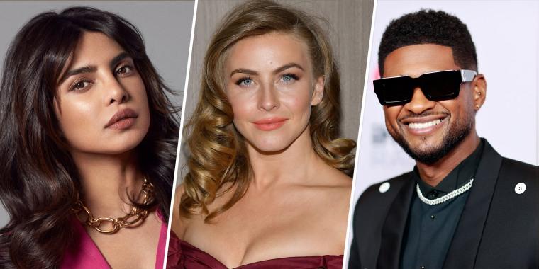 Usher, Julianne Hough and Priyanka Chopra Jonas were announced as hosts late last week.
