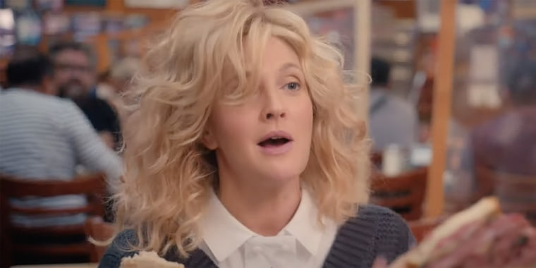 """Drew Barrymore reenacted the famous deli scene from """"When Harry Met Sally..."""" in a new trailer for """"The Drew Barrymore Show."""""""