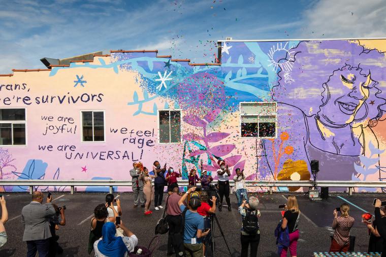 The We Are Universal dedication on Sept. 28, 2021 in Philadelphia.
