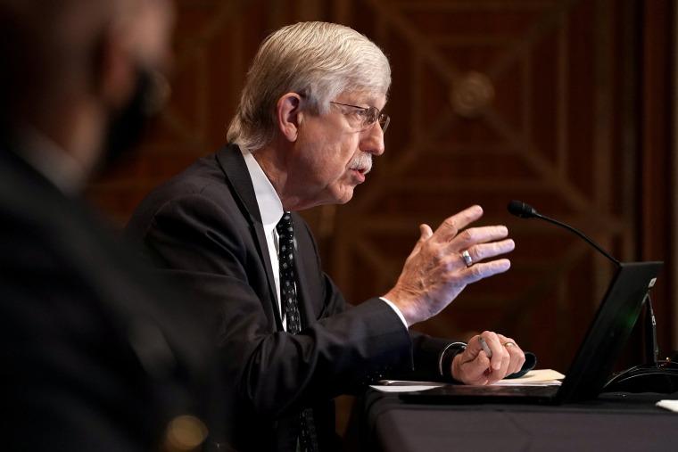 Image: Senate panel holds hearing on COVID-19 vaccines, in Washington