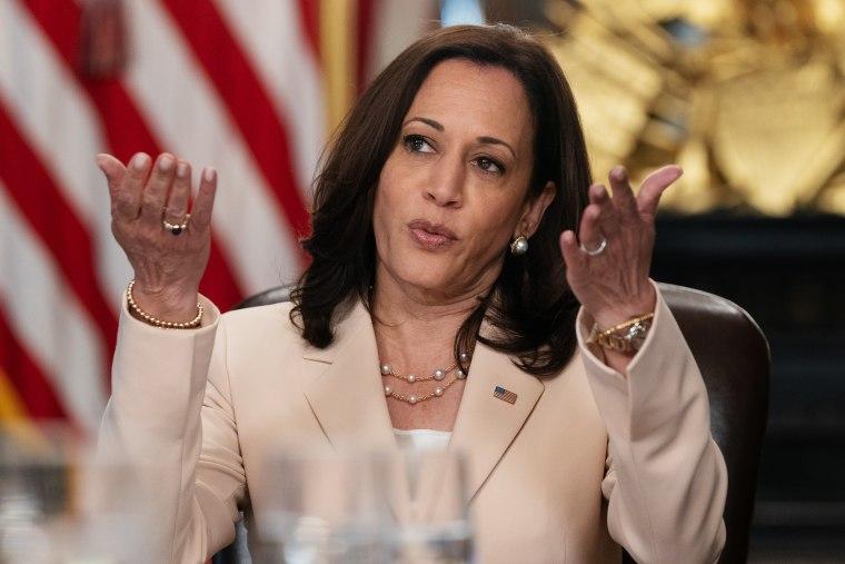 Vice President Harris Holds Meeting Marking DACA Program Anniversary