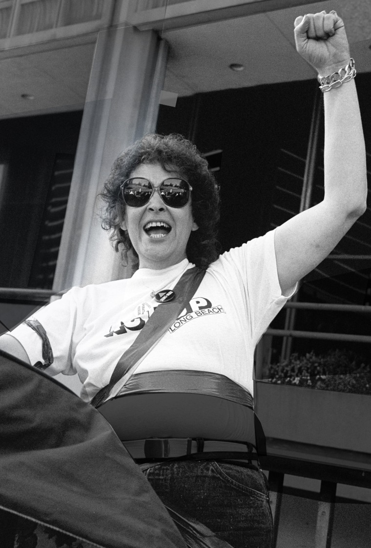"""AIDS activist Connie Norman in the documentary """"AIDS Diva: The Legend of Connie Norman."""""""