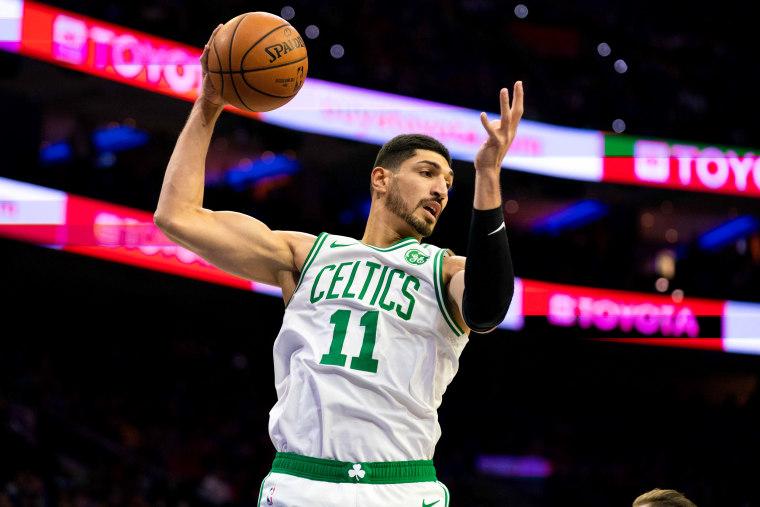 China Bans Boston Celtics Games After Center Enes Kanter Slams 'Dictator' Xi Over Tibet