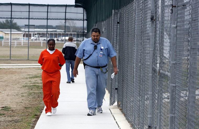 La correccional estatal para menores de Ron Jackson State en Texas en una foto de archivo
