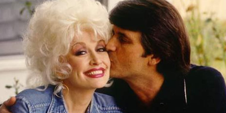 It was instant attraction between Dolly Parton and husband Carl Dean when she met him on the first day she moved to Nashville in 1964.