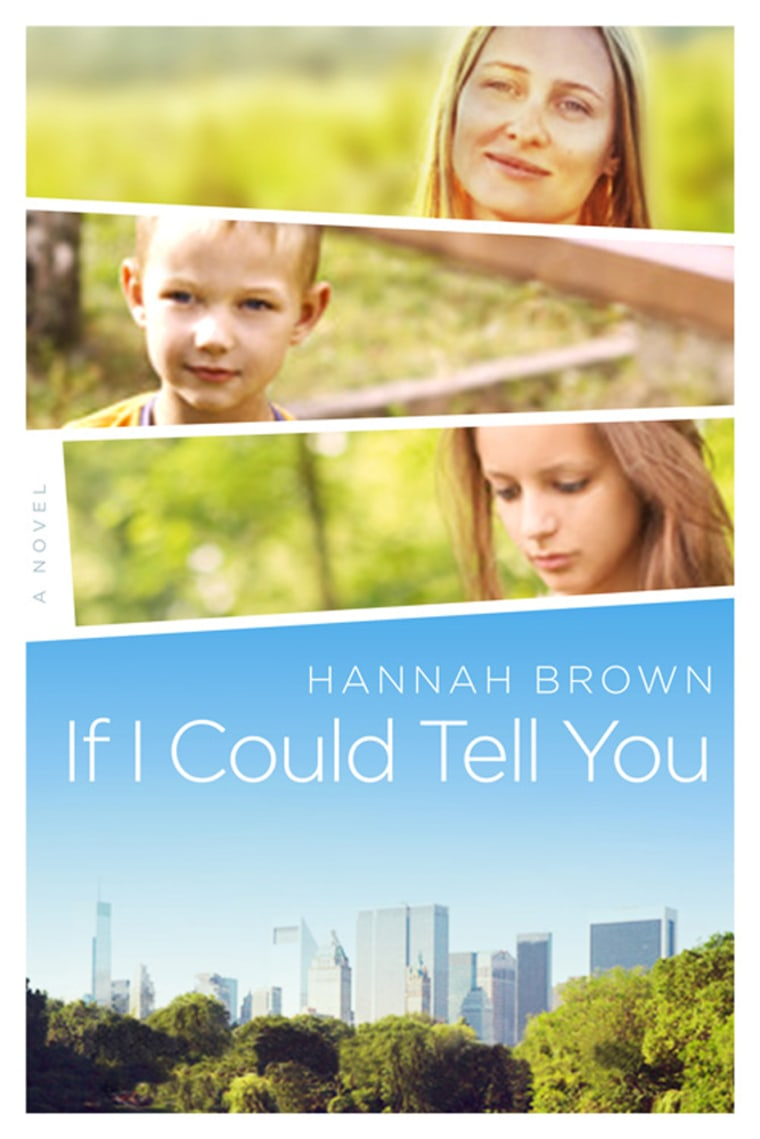 """""""If I Could Tell You,"""" by Hannah Brown, a novel about parents of children with autism."""