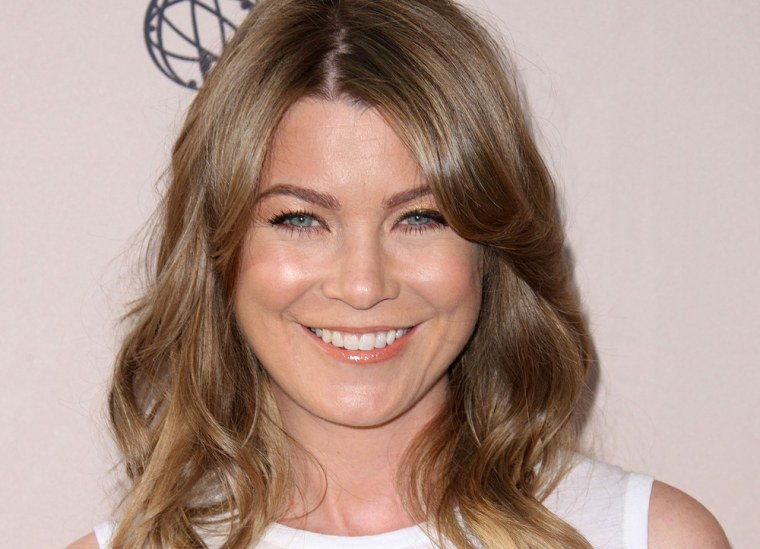 """Ellen Pompeo attends The Academy of Television Arts & Sciences Presents \""""Welcome To ShondaLand: An Evening With Shonda Rhimes & Friends\"""" at the Leonard H. Goldenson Theatre on April 2 in North Hollywood."""