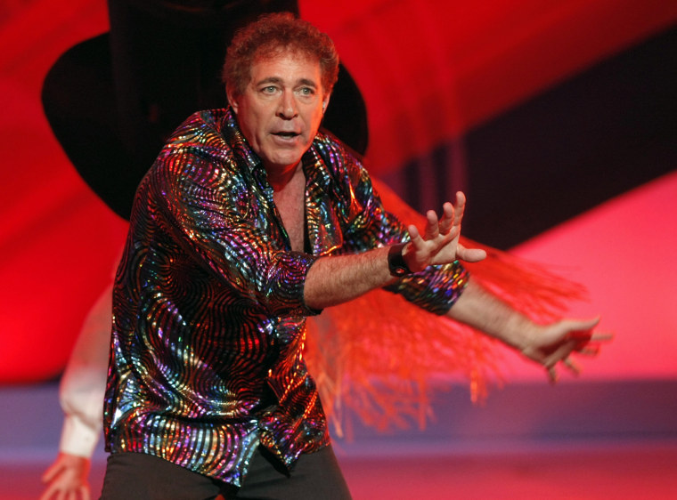 Barry Williams, seen performing at the TV Land Awards in 2009, is a dad again at 57.