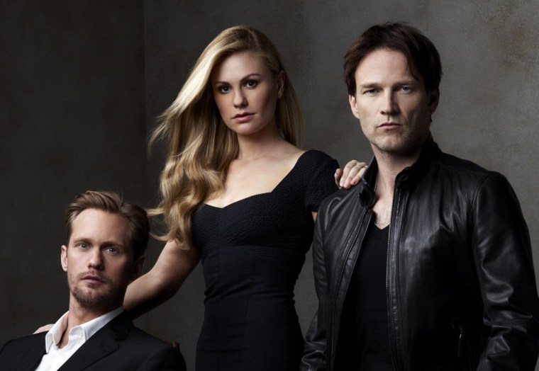 """Eric, Sookie and Bill of \""""True Blood\"""" will be back on June 10."""