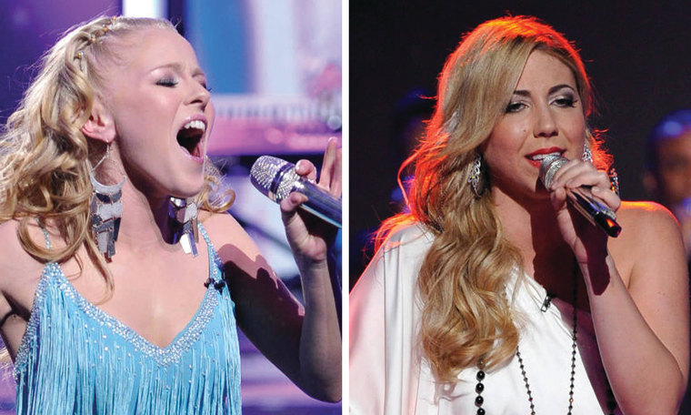"""Hollie Cavanagh and Elise Testone had trouble with their performances on \""""American Idol.\"""""""