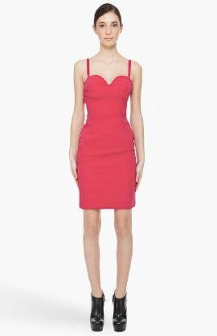 Preen pink peep dress found on SSENSE.com