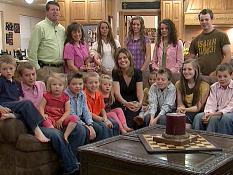 TODAY's Savannah Guthrie joins the Duggars for breakfast.