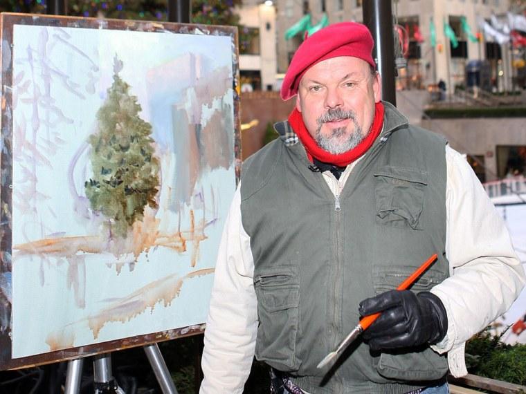 Artist Thomas Kinkade in 2007.