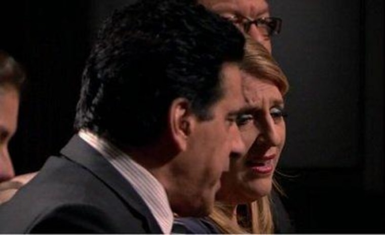 """Lou Ferrigno let Lisa Lampanelli know just what he thought of her on Sunday night's \""""Celebrity Apprentice.\"""""""