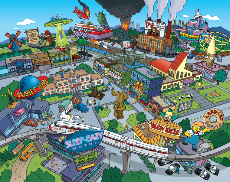 "Springfield, hometown of ""The Simpsons,"" is located in Oregon, according to the show's creator."