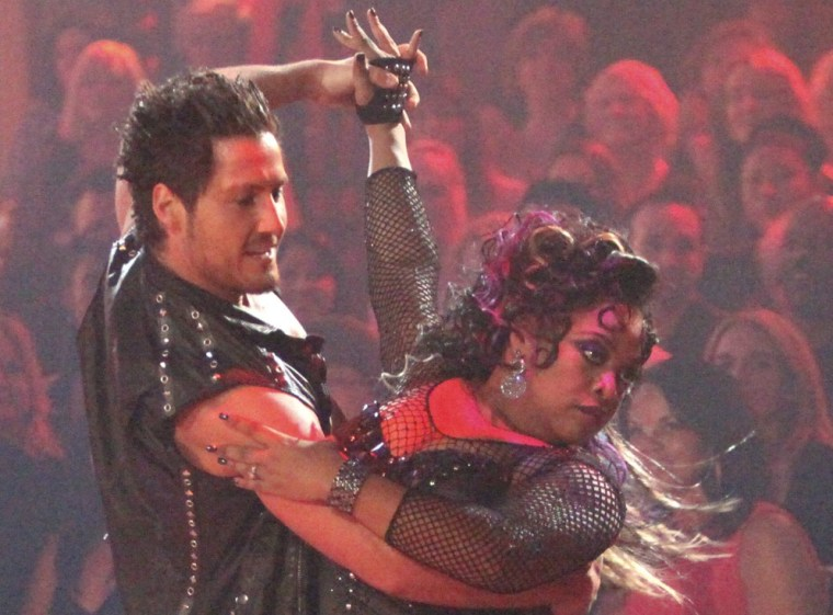 Val Chmerkovskiy and Sherri Shepherd didn't quite deliver with their tango on Monday and paid the price Tuesday.
