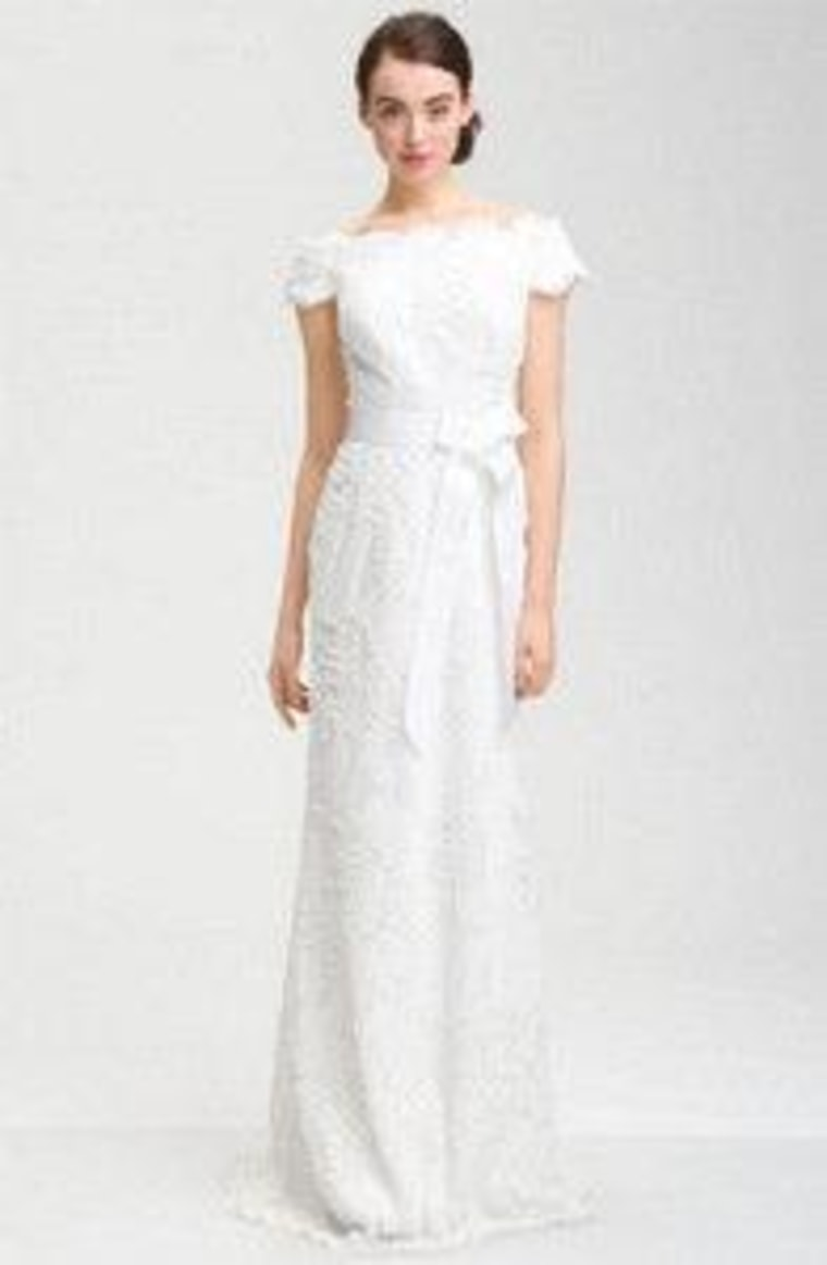 This dress by Tadashi Shoji costs $468 at Nordstrom.