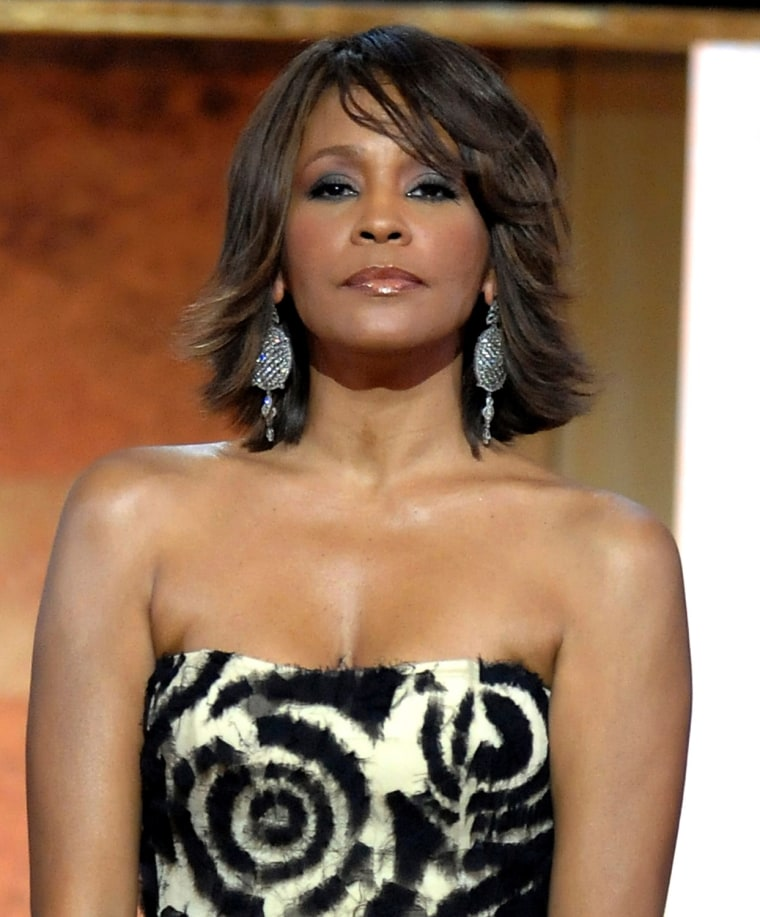 Whitney Houston in 2009.