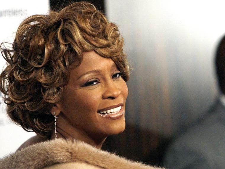 Whitney Houston in 2007.
