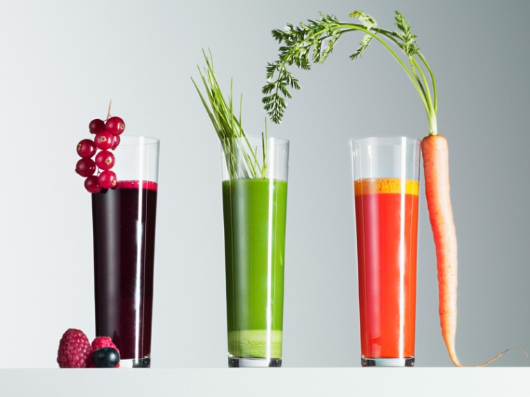 """Cleaning out"" or detoxing your body with juices is completely unnecessary, says Madelyn Fernstrom, TODAY's nutrition editor. ""Fiber is the body's Roto-Rooter."""