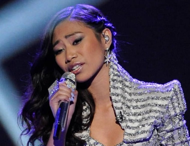 """Despite wowing the judges on Wednesday, \""""Idol\"""" fans voted to send Jessica Sanchez home."""